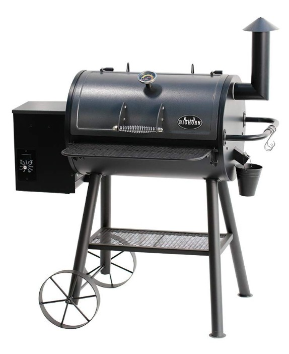 BIG HORN Outdoor Pellet Grill and Smoker