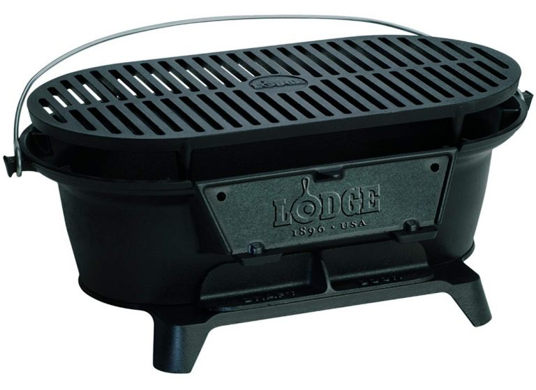Lodge Cast Iron Sportsman's Grill - Large Charcoal