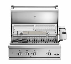 DCS Series 9 Evolution Natural Gas Grill Charcoal Combo