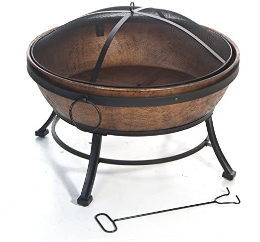 DeckMate Avondale Steel Fire Bowl