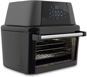 Nutrichef 1800W Air Fryer Plus Food Dehydrator and Rotisserie Oven