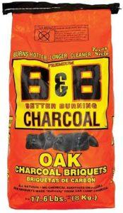 B & B Charcoal Oak Charcoal