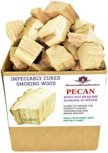 DiamondKingSmoker Pecan Smoking Wood Chunks