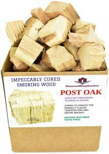 DiamondKingSmoker Post Oak Smoking Wood Chunks