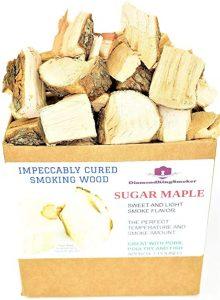 DiamondKingSmoker Sugar Maple Smoking Wood Chunks
