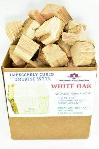 DiamondKingSmoker White Oak Smoking Wood Chunks