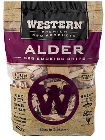 Western Alder BBQ Smoking Chips