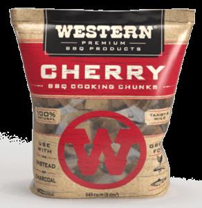 Western Cherry BBQ Cooking Chunks