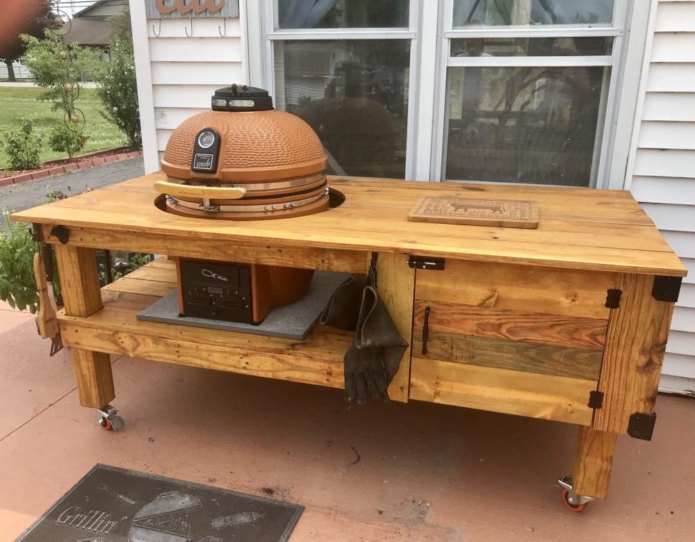 9 DIY Budget-Friendly Kamado Grill Table Designs - Totally Worth It