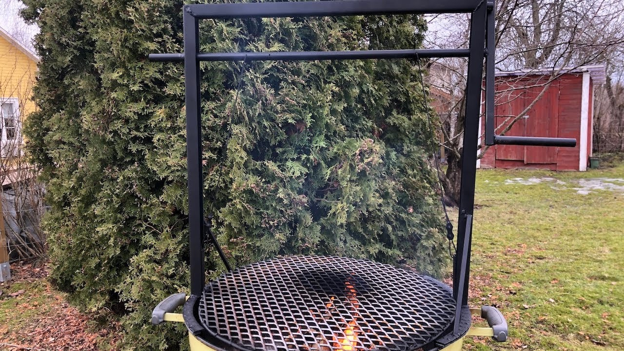 How to Build Your Own DIY Santa Maria Grill