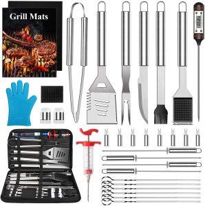 FoPcc BBQ Grill Accessories Grilling Tools Set
