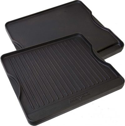 Camp Chef Reversible Pre-Seasoned Cast Iron Griddle