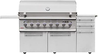 American Muscle Gas Charcoal Grill Combo
