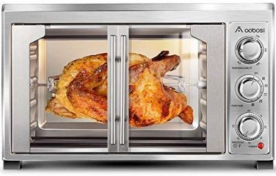 Aobosi Convection Toaster Oven Electric Rotisserie Oven