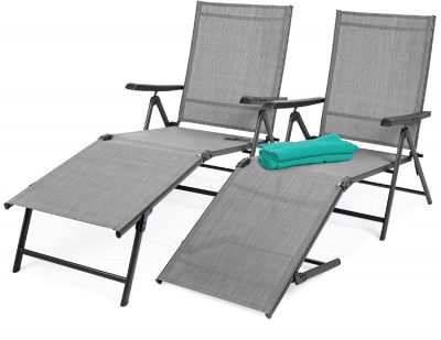 Best Choice Outdoor Adjustable Chaise Lounge
