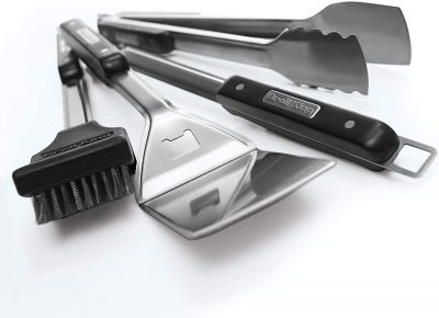 Broil King Imperial 4-Piece Stainless Steel BBQ Tool Set