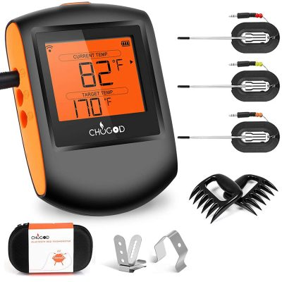 CHUGOD BBQ Bluetooth Cooking Thermometer
