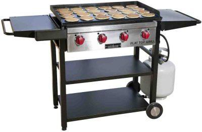 Camp Chef 600 4-Burner Flat Top Propane Gas Grill