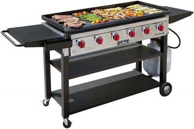 Camp Chef 900 6-Burner Flat Top Propane Gas Grill
