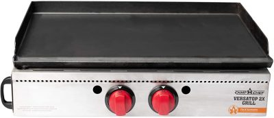 Camp Chef VersaTop 2X Two Burner Portable Flat Top Propane Gas Grill
