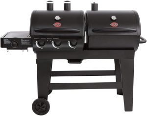 Char-Griller Dual Function Gas Charcoal Grill