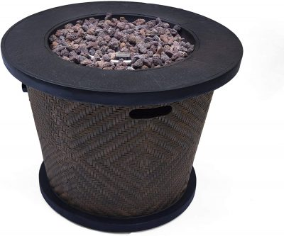 Christopher Knight Home Elizabeth Outdoor Circular Concrete Fire Pit