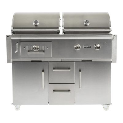 Coyote Centaur 50-Inch Natural Gas Charcoal Dual Fuel Grill