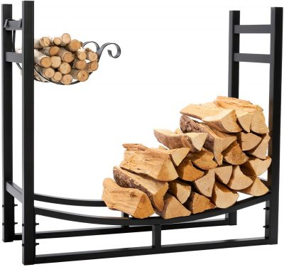 DOEWORKS Heavy Duty Firewood Rack