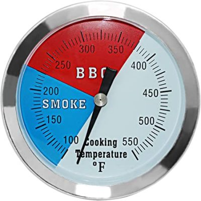 DOZYANT 3⅛ Inch Barbecue Charcoal Grill Smoker Temperature Gauge