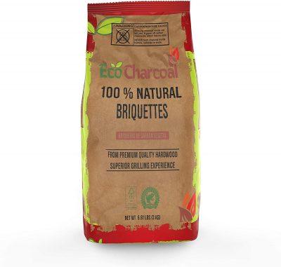 ECONEW EcoCharcoal 100% Natural Hardwood Briquettes