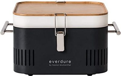 """Everdure By Heston Blumenthal CUBE 17"""" Portable Charcoal Grill"""