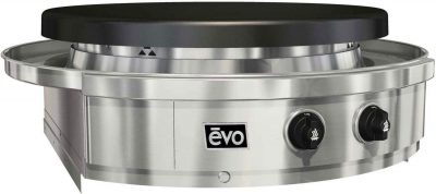 Evo Affinity Classic 25G Built-In Flattop Propane Gas Grill