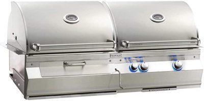 Fire Magic Aurora A830I Natural Gas & Charcoal Combo Grill