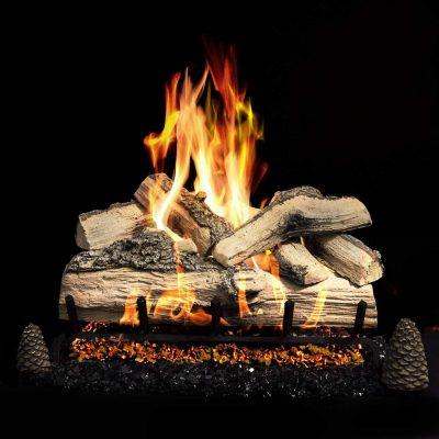 Firenado 24-Inch Split Oak Gas Log Set