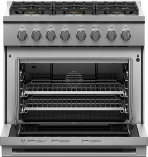 Fisher Paykel Professional 36-Inch 6-Burner Natural Gas Range