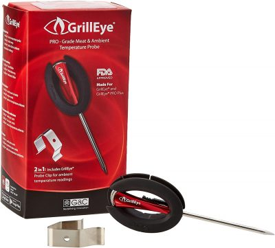 GrillEye Professional Meat Temperature Probe and Ambient Clip