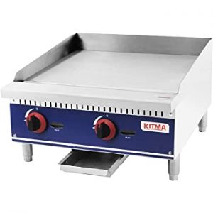 KITMA Commercial Countertop Griddle