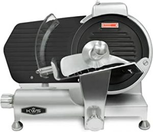 KWS MS-10ET Commercial 320W Electric Meat Slicer (10-inch)