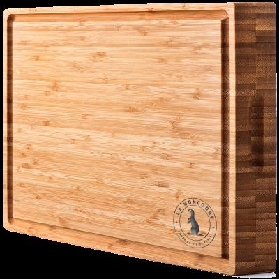 La Mongoose Acacia End Grain Wooden Cutting Board