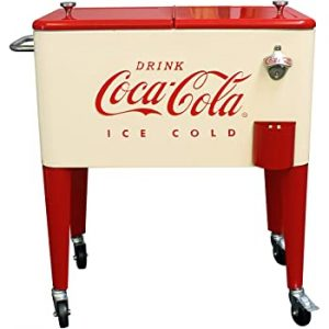 Leigh Country Coca-Cola Rolling Cooler