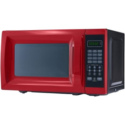 Mainstays Red Microwave Model