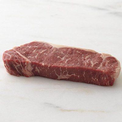 Meyer Natural Angus USDA Prime New York Strip Steaks