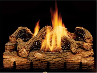 Monessen Charred Hickory 24-Inch Vent Free Gas Log Set
