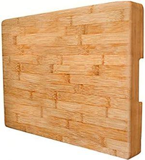 NEET Extra Large Bamboo Cutting Board