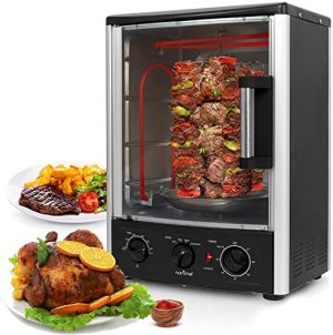 NutriChef Upgraded Multi-Function Rotisserie Oven - Vertical Countertop Oven