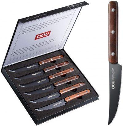 OOU 6 Steak Knives