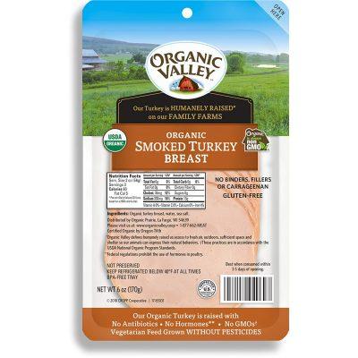 Organic Valley Organic Smoked Turkey Breast Slices