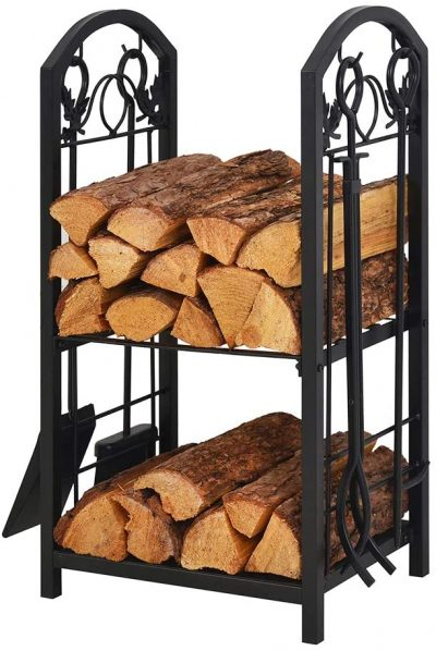 Patio Watcher Firewood Rack