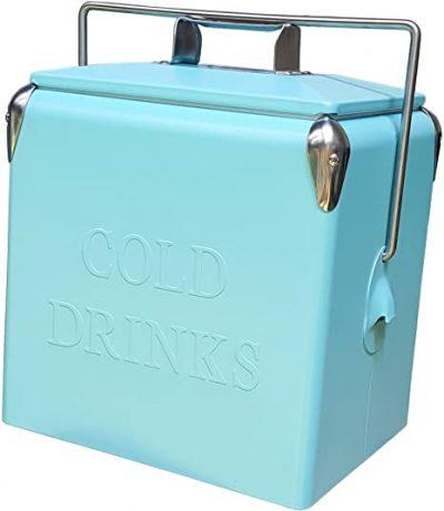 Permasteel 14 Quart Portable Picnic Cooler