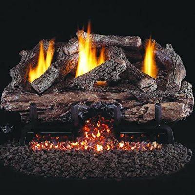 Peterson Real Fyre 18-Inch Charred Aged Split Oak Gas Log Set
